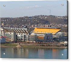 Heinz Field Acrylic Print by James Guentner