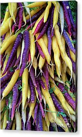 Heirloom Rainbow Carrots Acrylic Print