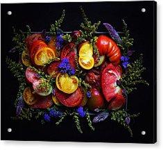 Heirloom Tomato Platter Acrylic Print