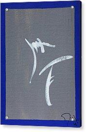 Heiroglyph Acrylic Print by John Wesley