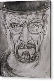 Heisenberg Acrylic Print by Hannah Curran