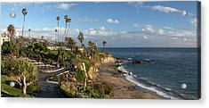 Acrylic Print featuring the photograph Heisler Park Panoramic by Cliff Wassmann