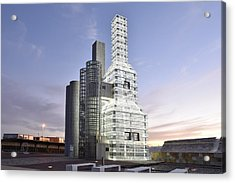 Hejduk Memorial Towers Acrylic Print
