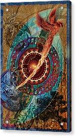 Hejira Acrylic Print by Kenneth Armand Johnson