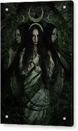 Hekate Acrylic Print by Cambion Art