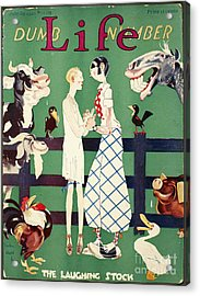 Held: Magazine Cover, 1926 Acrylic Print by Granger