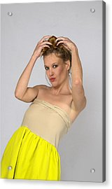 Helen In Party Dress Acrylic Print