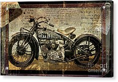Hell On Wheels Acrylic Print by Mindy Sommers