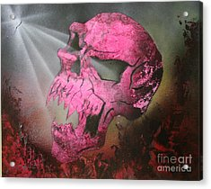 Acrylic Print featuring the painting Hell by Tbone Oliver