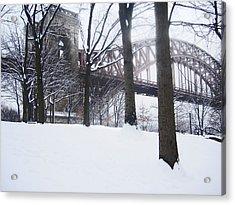 Hellgate 5 Acrylic Print by Bernadette Claffey