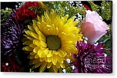 Hello Sunshine Acrylic Print by Becky Lupe