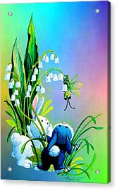 Hello There Acrylic Print by Hanne Lore Koehler