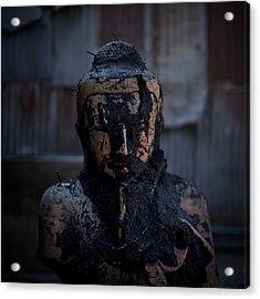 Hellraiser Buddha Acrylic Print