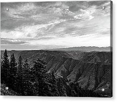 Hells Canyon Drama Acrylic Print