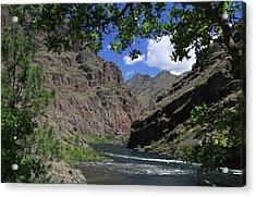 Hells Canyon Snake River Acrylic Print