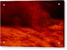 Hells Fire Acrylic Print by Christopher Rowlands