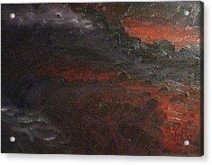 Hell's Fury Acrylic Print by Gloria Condon
