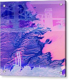 Hells Gate Acrylic Print by Fran McNamara