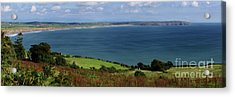 Hells Mouth Acrylic Print by Steev Stamford