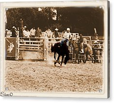 Helluva Rodeo-the Ride 2 Acrylic Print