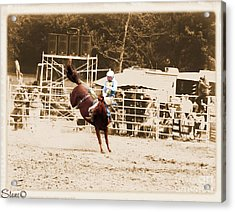 Helluva Rodeo-the Ride 3 Acrylic Print