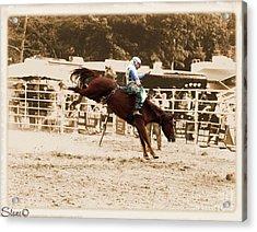 Helluva Rodeo-the Ride 4 Acrylic Print