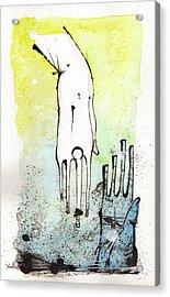 Help Acrylic Print by Mark M  Mellon