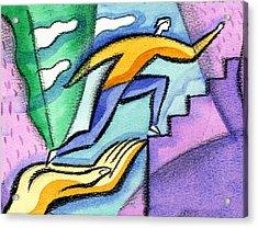 Helping Hand And Career Acrylic Print