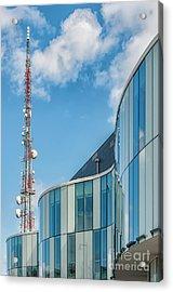 Acrylic Print featuring the photograph Helsingborg Arena Concert Hall by Antony McAulay