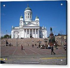 Helsinki Finland-1 Acrylic Print by Yury Bashkin