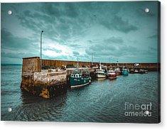 Helvick Harbour 2 Acrylic Print