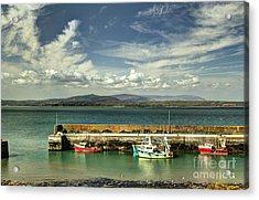 Helvick Harbour Acrylic Print