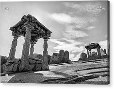 Acrylic Print featuring the photograph Hemakuta Hill, Hampi, 2017 by Hitendra SINKAR