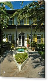 Hemingways House Key West Acrylic Print by Susanne Van Hulst