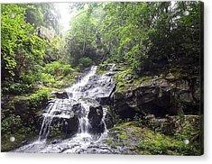 Hen Wallow Falls Great Smoky Mountains National Park Acrylic Print