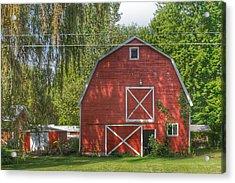 0018 - Henderson Road Red I Acrylic Print