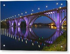 Henley Bridge In Knoxville Tn Acrylic Print