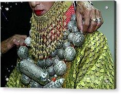 Henna Ceremony  Acrylic Print by Chen Leopold