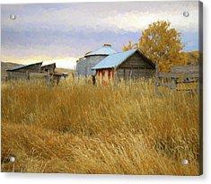 Hennefer Autumn Acrylic Print by David King