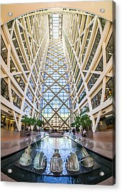 Hennepin County Government Center In Minneapolis Minnesota Acrylic Print by Jim Hughes
