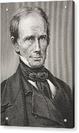 Henry Clay 1777 - 1852. American Acrylic Print by Vintage Design Pics