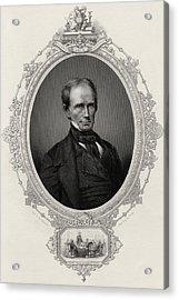 Henry Clay 1777-1852 American Statesman Acrylic Print by Vintage Design Pics