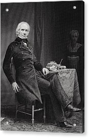 Henry Clay 1777 To 1852. American Acrylic Print by Vintage Design Pics