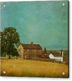 Henry House At Manassas Battlefield Park Acrylic Print by Kim Hojnacki