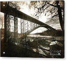 Henry Hudson Bridge, 1936 Acrylic Print