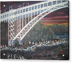 Henry Hudson Bridge Acrylic Print