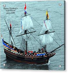 Henry Hudson Acrylic Print by DazzleMe Photography