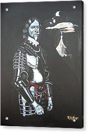 Acrylic Print featuring the painting Henry Ireton by Richard Le Page