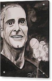 Henry Rollins Acrylic Print by Darkest Artist