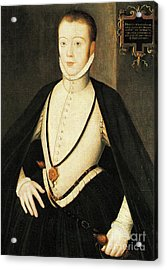 Henry Stewart Lord Darnley Married Mary Queen Of Scots 1565 Acrylic Print
